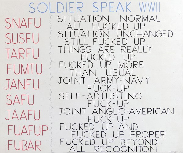 Soldier Speak (SNAFU)