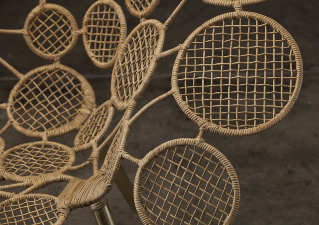 Racket Chair (Circles)