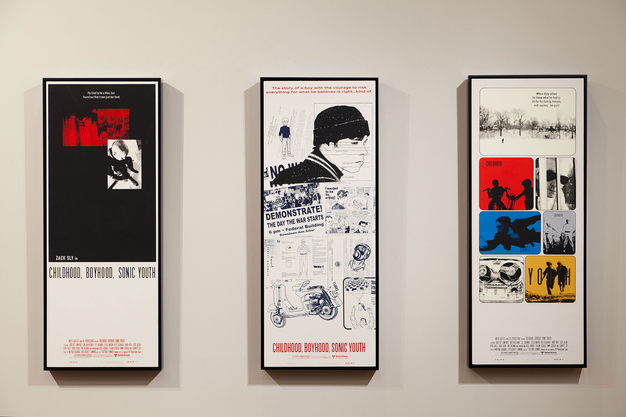 Posters 1, 2 and 3