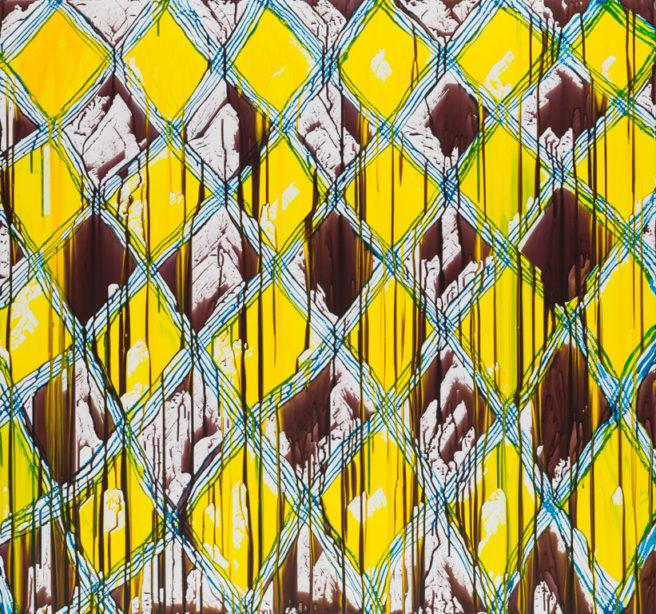 Meshwork: Brown/ Cell/ White