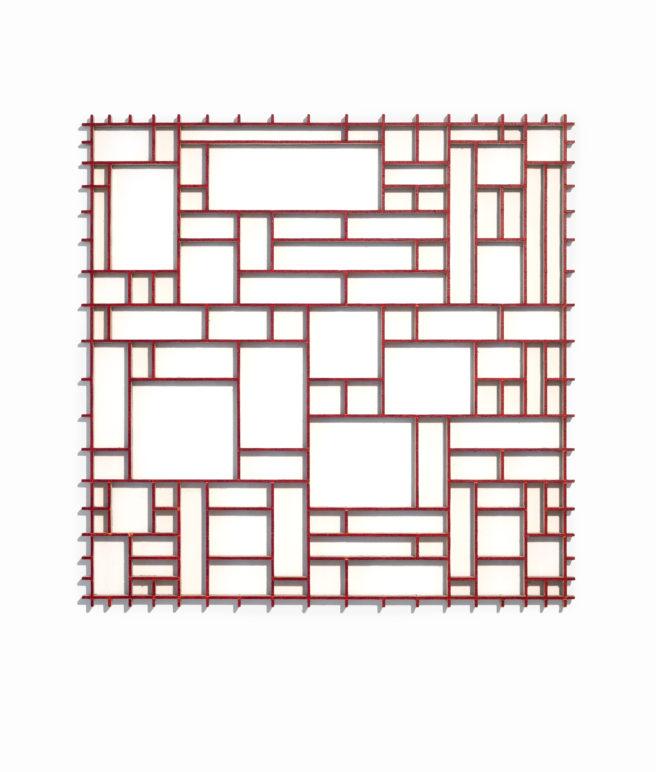 Egner_Red_Grid_25