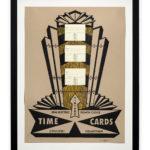 VINTAGE TIME CARDS