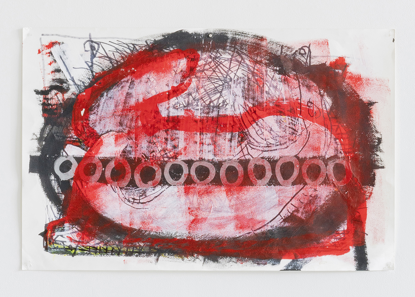 Luchs_Red_Rabbit_1_on_paper_26x40_2020_DESOUSA_GALLERY_web