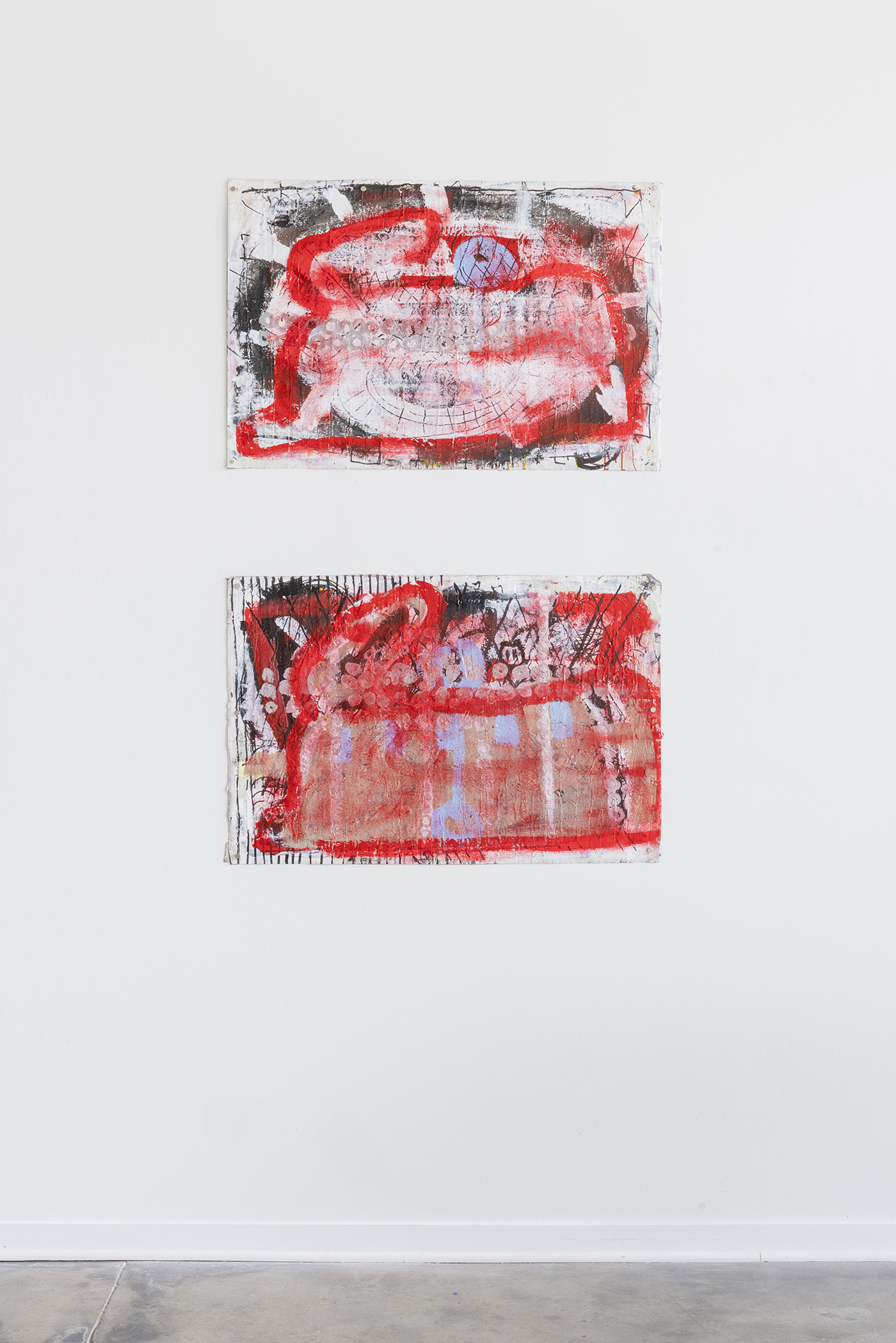 Luchs_installation_view8_Two_Red_Squirrels_on_Paper_2_web