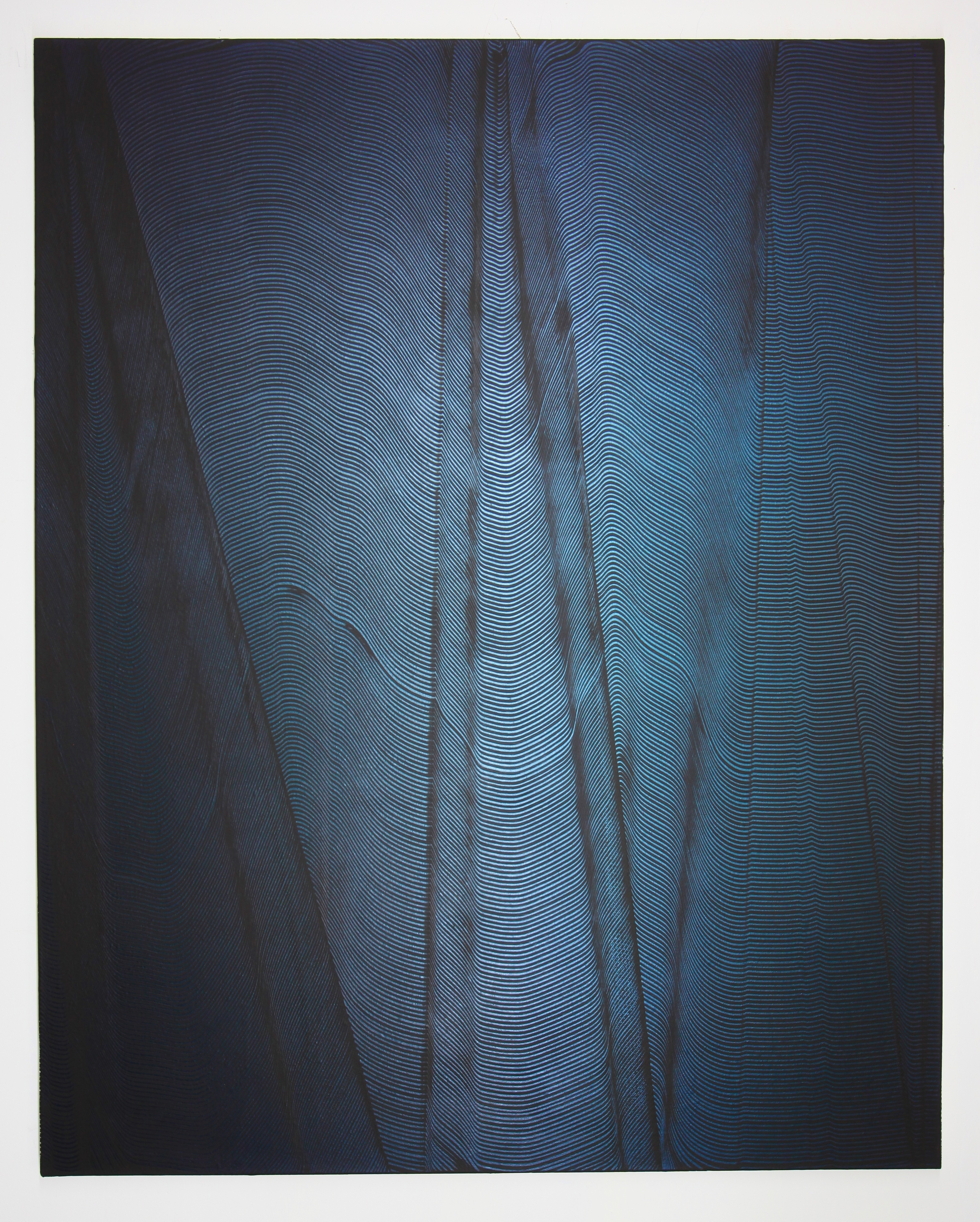 COLLINS_oil_and acrylic_on_auto wrap_on_canvas_60x48inches_BLUE_2021_DESOUSA_GALLERY