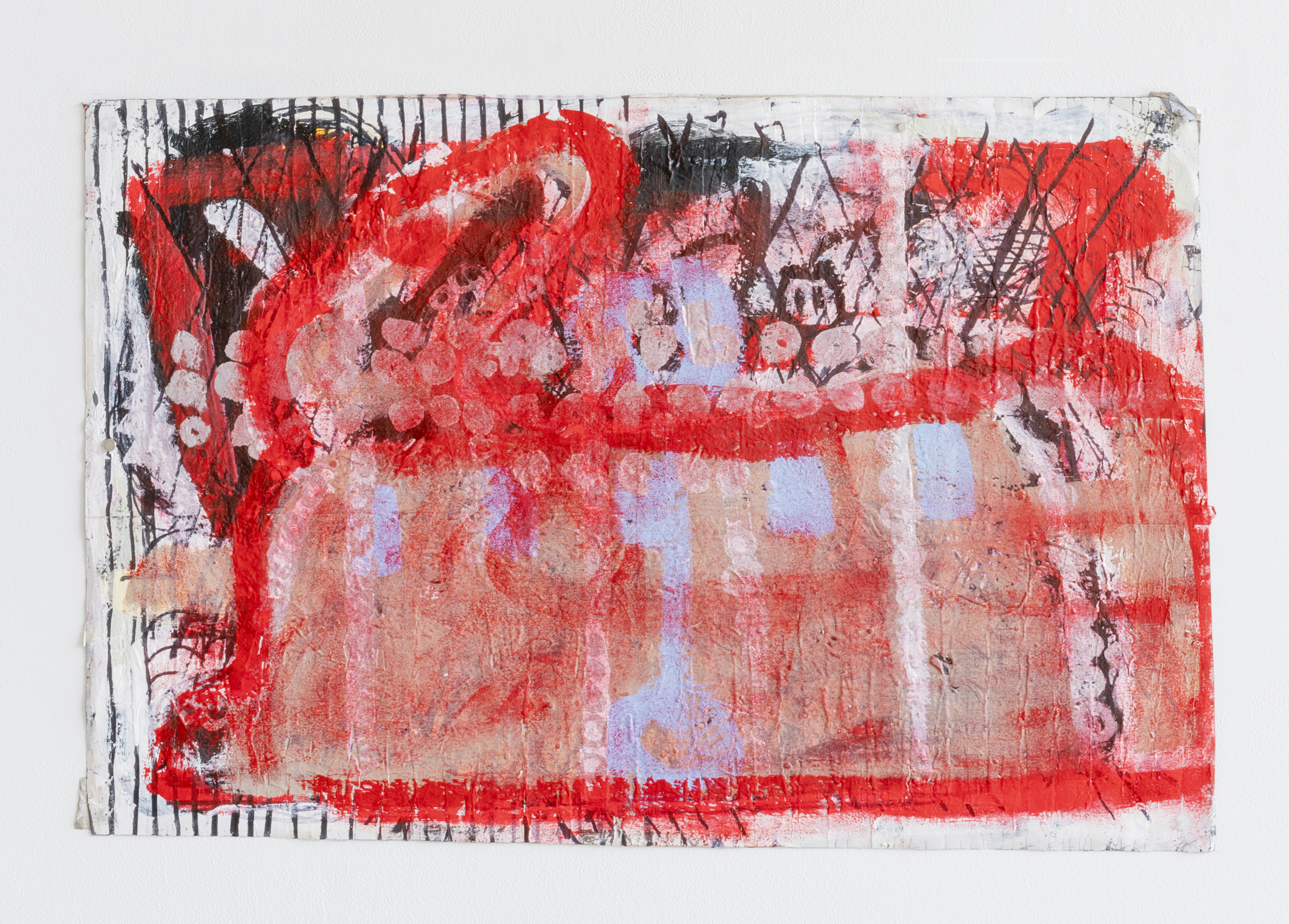 Luchs_Red_Rabbit_3_on_paper_26x40_2020_DESOUSA_GALLERY